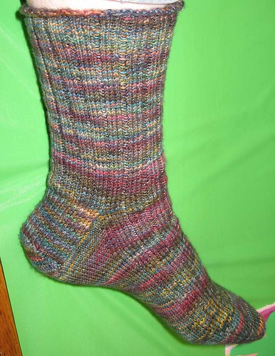 Fleece Artist Ribbed Sock