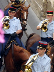 Equestrian military band in Paris - 8 (Josh Clark) Tags: horses music paris police