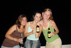 Carib beer advert (Xenia Petrovna) Tags: ladies party beer smiling grenada sgu xenia carib tanlines medicalschool partygirls caribbeer medicalstudents gouyave