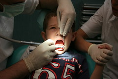 Aaaagh! (Finizio) Tags: kids kid fear dental brave nurse scared dentist dentistry drill trapano dentista odontologia odontologo interestingness350 i500 odontoiatra odontoiatria zahnartz