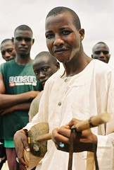 The Harpist (Barefoot In Florida) Tags: africa musical nigeria harp instruments hausa