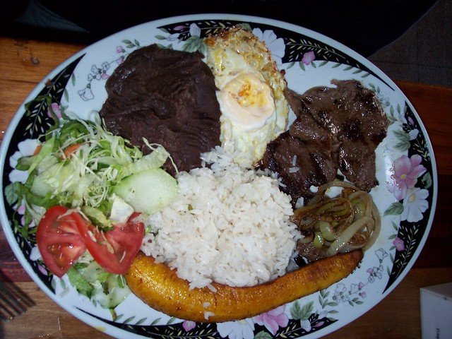 Casado is a typical Costa Rican food