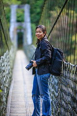 Taiwan-121116-825 (Kelly Cheng) Tags: asia christina northeastasia taiwan tarokogorge tarokonationalpark architecture bridge building color colorful colour colourful day daylight dusk friends nature outdoor tourism travel traveldestinations vertical 太魯閣國家公園 太鲁阁