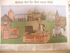 Bühne frei für Ihre neue WAZ