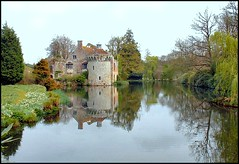 Scotney Castle, Lamberhurst,  Kent (Lincolnian (Brian)) Tags: england tower castle water beautiful gardens reflections kent nt lovely1 abc nationaltrust abw scotneycastle lamberhurst 50club castlespalacesmanorhousesstatelyhomescottages