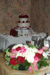 Flowers and Cake (mhaithaca) Tags: wedding georgia buckhead anthonys