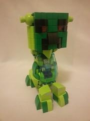 Creeper mech v2 (bloodgear14ad) Tags: robot lego mech legomoc minecraft