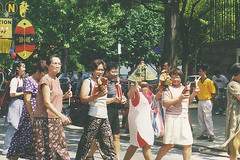 Women Dancing at Sinulog '98 (Philadelphia, PA)