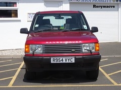 1996 Range Rover P38 (Rorymacve Part II) Tags: auto road bus heritage cars sports car truck automobile estate transport historic motor landrover saloon rangerover compact roadster landroverrangerover p38 motorvehicle worldcars rangeroverp38