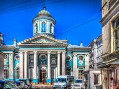 Catholic Church of St. Catherine (Kev Walker ¦ 8 Million Views..Thank You) Tags: stpetersburg russia hdr 2015 kevinwalker