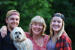 The Whole Family (Braden Bygrave) Tags: family dog cute beautiful mom daughter son siblings familyphoto