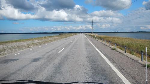 Straße in Estland