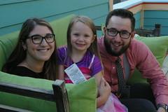 Shayda, Brinna and Andrew