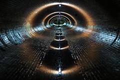 Berlin Rainwater Sewer (Lens Daemmi) Tags: berlin deutschland wasser tunnel system kanal sewer regen rainwater kanalisation abwasser hohenstaufenstrase regenüberlaufbauwerk regenabwasserkanal