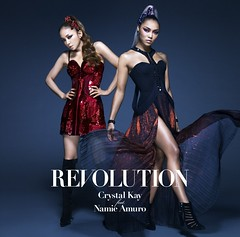 Revolution- Crystal Kay feat. Namie Amuro (CD only cover) (Namie Amuro Live ) Tags: namie amuro cover revolution collaboration singlecover crystalkay  cdonly