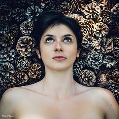 Organic portrait: Jazmin (pedroelbosque) Tags: portrait woman beauty shoot fineart croatia pedro portfolio elbosque jazmin pedroelbosque