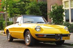 1979 Alfa Romeo 2000 Spider Veloce (rvandermaar) Tags: 1979 alfa romeo 2000 spider veloce fj46nd sidecode4 alfaromeo alfaspider alfaromeospider pininfarina alfa2000spider alfaromeo2000spider rvdm