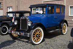 Chevrolet Superior Sedan 1925 (Greeney5) Tags: auto blue chevrolet car automobile blauw autoshow oldtimer carshow gop stovl automobiel chevroletsuperiorsedan stichtingoldtimervriendenlimburg geleenseoldtimerparade