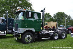 1978 Mack F767 Tractor (Trucks, Buses, & Trains by granitefan713) Tags: tractor mack coe vintagetruck cabover macktruck antiquetruck atca fmodel trucktractor sleepertractor mackfmodel atcamacungie atcanationalmeet mackf767 macungie2015