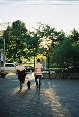 siblings (closer to the mn) Tags: travel family summer toronto canada film 35mm canon 50mm kodak vibrant nostalgic canonae1p