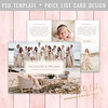 Layered Photoshop Template (daphnepopuliers) Tags: psd photoshop adobe template layered photocard card cardtemplate pricelist marketing business photostudio photography photographer