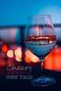 Cheers To A Sparkling New Year (thethomsn) Tags: cheers sparkling newyear newyearseve wineglass bokeh colour blue red dof dark celebrate drink primelens sigma 30mm thethomsn bluehour night