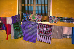 Fabrics, Fabrics... (Artypixall) Tags: guatemala santiagoatitlan fabrics clotheslines window wall