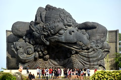 Garuda Wisnu Kencana, Bali. (Manoo Mistry) Tags: nikond5500body nikon bali seminyak tamron18270mmzoom holiday tourism outdoor sculptor statue garudawisnukencana garuda people indonesia