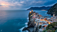 Vernazza (Mat Viv) Tags: canon sigma sigma1750mmf28 canoneos760d canoneost6s 760d t6s longexposure wideangle panorama panoramic view depthoffield landscape seascape seaside sea coast city travel italy liguria vernazza cinqueterre architecture sun sunset sunlight nature natural naturallight water waves foam surf outdoors wonder awe contemplation beautiful