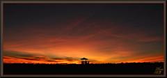 Far and wide (WanaM3) Tags: wanam3 sony a700 sonya700 texas houston elfrancoleepark park twiligth vista landscape outdoors clouds dusk redsky observationtower sunset