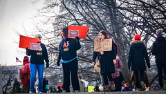 2017.01.29 Oppose Betsy DeVos Protest, Washington, DC USA 00203