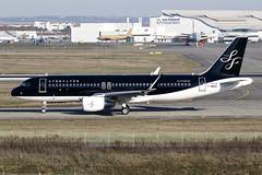 13 décembre 2016 - STARFLYER - Airbus  A 320 SL  F-WWBQ  msn 7414 - LFBO - TLS (gimbellet) Tags: canon nikon spotting spotter boeing blagnac lfbo toulouse transport transportation tls toulouseblagnac a320 a330 a380 aviation airplanes a340 airbus aircraft avions atr airport a350 aeronautique aeroport airplane aeroplane a320sl