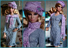 Dress, beret, scarf for Fashion Royalty, Poppy Parker, Barbie, FR2 (electraere) Tags: dress beret scarf fashionroyalty poppyparker barbie fr2