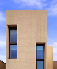 Modern building (chrisk8800) Tags: architecture building modern squares windows door structure texture facade composition barcelona shape form lines geometric