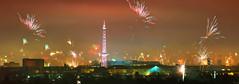 Happy New Year from Berlin, and.... (FH | Photography) Tags: berlin silvester skyline newyearseve funkturm feuerwerk neujahr feier event deutschland hauptstadt 2017 jahreswechsel
