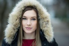Julia (ecker) Tags: bokeh frau gesicht gesichtsportrait kapuze linz outdoor pelz portrait porträt umgebungslicht urfahr winter availablelight face hood naturallight portraiture woman sony a7 fe85mmf14gm sel85f14gm