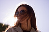 14/365 (KaileyRishovd) Tags: project project365 la losangeles hair girl glasses light sun shining shine westwood breakfast