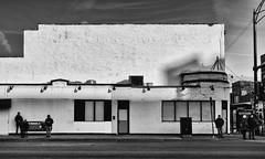 Whitewalls - HWW (bjg_snaps (on hiatus)) Tags: hww wall window brick bw blackandwhite texture outofbusiness chicago