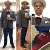 Outfit 20170116 (Freddie Avalos) Tags: socks jacket bowtie chino hat shoes vans clothes outfit