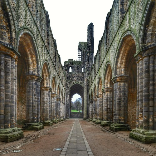 A couple more of Kirkstall Abbey.  Used snapseed and nikon wireless app. #nikon #snapseed #kirkstallabbey #HDR
