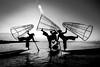 Inle Lake, Myanmar (ravalli1) Tags: myanmar inlelake blackandwhite burma dailylife lake water southeastasia nikon7100 vacations 2016 birmania boats fishing