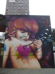 Doudou Style (été 2016) (Archi & Philou) Tags: doudou murpeint paintedwall enfant paris13 streetart child