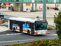 Heuliez GX327 - ADP (Aeropass 93947) (Pi Eye) Tags: bus autobus roissy cdg aéroport adp parisaéroport aeropass transdev airfrance heuliez gx327