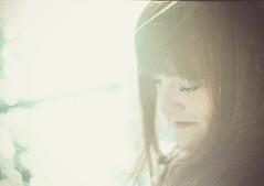 Dreamtime (i-r-paulus) Tags: film filmisnotdead 35mmfilm redhead flare sunlight sunflare kodak kodakfilm colorfilm colourfilm moody wistful burntout homescanned