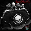 my birthday cake (Queens Of Sweet) Tags: clutch purse goth skull cake knuckle