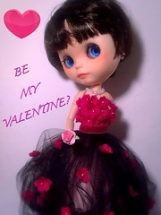 Blythe-a-Day# 14. Hearts&# 17. In the Pink: Teen Model Nylah