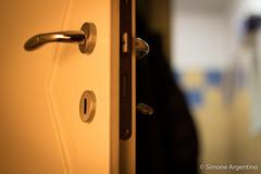 Mystery! (simoneargentino) Tags: door mystery mysterydoor key hotlight canonlens50mmf18 lock playoflight opendoor openlock doorhandle shadows