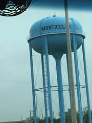 Monticello and Wolcott - Indiana (sheriffdan10) Tags: city streets town watertower indiana monticello wolcott lakeshafer