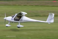 D-MVPP - 2013 build Pipistrel Virus SW80, departing from Runway 26L at Barton (egcc) Tags: manchester nasa barton microlight virus cityairport 2015 lsa pipistrel flyuk egcb sw80 524swn80 dmvpp