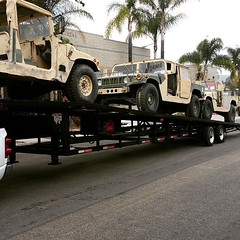 "HMMWV's rolling in. Couple weeks they will be up for sale. www.PredatorInc.com  #hmmwv  #military • <a style=""font-size:0.8em;"" href=""http://www.flickr.com/photos/51336812@N07/19091930828/"" target=""_blank"">View on Flickr</a>"